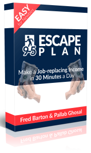 9-5 Escape Plan Review – DON'T BUY THIS PRODUCT BEFORE YOU READ! : Make A Job-Replacing Income In 30 Minutes A Day [Make A Job-Replacing Income Of $48.72 A Day, While Sitting In Your Pyjamas]