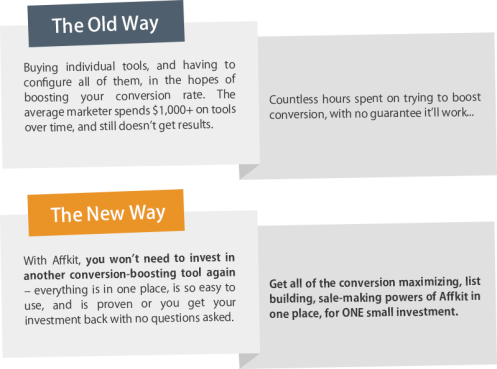 Affkit Review – HOW DOES IT WORK?: Make Any and All Websites Convert Higher Instantly