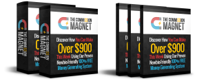 Commission Magnet Review – GET MASSIVE BONUSES : Discover How To Use Free Traffic To Generate Hundreds Dollars In Online Commission Every Single Week