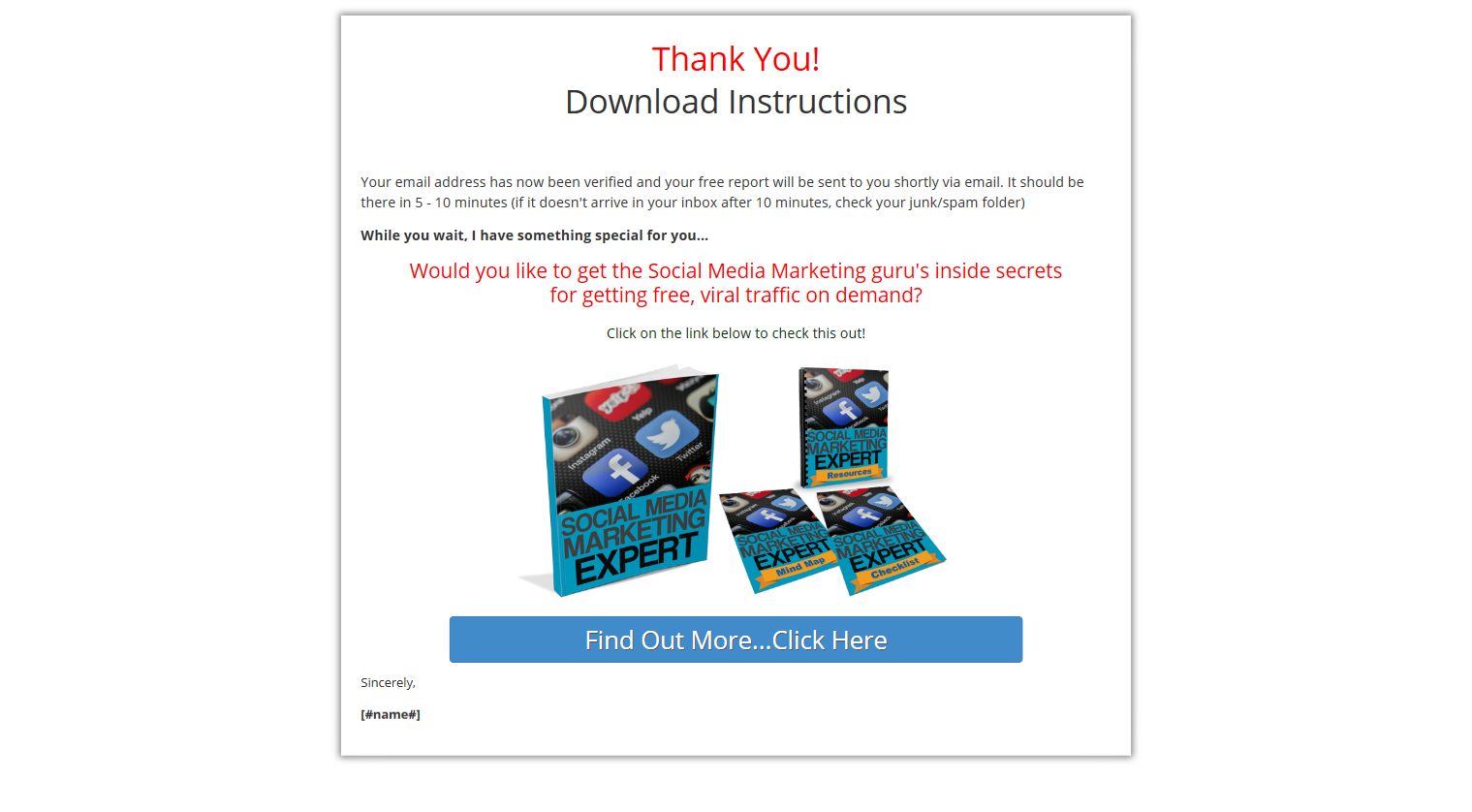 Done For You Social Media Funnel review – HOW DOES IT WORK? : The New Web-Based Software That Creates Your High Converting Listbuilding Mini-funnel With Just A Few Easy Clicks [Rebranded Report + Responsive Squeeze Page + Thank You Page + Monetized Download Page + Email Autoresponder Sequence - All Branded For You In Minutes]