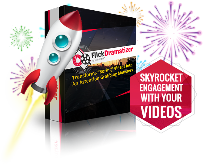 FlickDramatizer Review – EXCLUSIVE BONUS: Turn Dull Videos And Images Into Visually Striking Blockbusters That Bring More Viewers, Generate More Leads, And Move People TO take Action