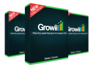 Growii Review – GET AMAZING BONUSES : The Case Study How Stefan Ciancio Turned Tiny One Time $10 Costs Into $100-$300 Per Month Passive Income Machines And How You Can Set Up As Many As You Want [Bank An Easy $330/Mo Passive Income From Each Of These Tiny $10 Investments]