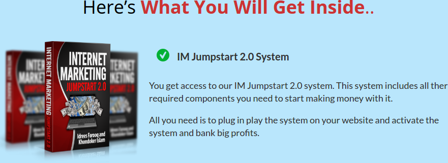 IM Jumpstart 2.0 Review – GET THE BONUS: The Unique System That Generate $100 - $200 Per Day With 20 Min Of Work