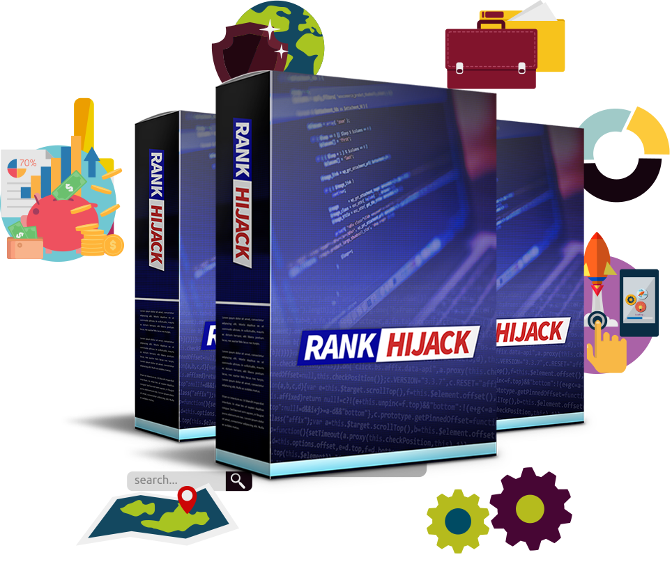 """Rank Hijack Review – IS IT SCAM OR LEGIT? : The """"NEW"""" SEO Fast Forward Button For Page 1 Rankings And Profits [The Software Which Makes Seo Easy, Fast, And Profitable]"""