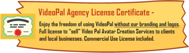 VideoPal Agency License Review – DON'T BUY THIS PRODUCT BEFORE YOU READ OUR REVIEW : Discover How You Can Earn $100, $200, Or Even $300 For Every Video Avatar That You Create With VideoPal [Let You Be The Middle Man And Profit With VideoPal Agency License]