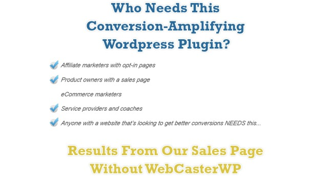 Webcaster WP Review – IS IT SCAM OR LEGIT? : Get More Opt-Ins, Higher Conversions, And Make More Money With This Powerful Plugin