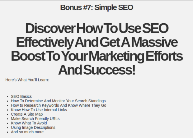 Invisible Seo Secrets 2017 By Dougp Review – SCAM OR LEGIT? : Weird Seo Secrets Automatically Generate Crazy Streams Of Never-Ending Laser Targeted Traffic From Google, Bing & Yahoo In 30 Days Or Less
