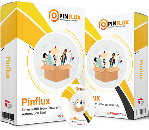 Pinflux ELITE Lifetime Review – WHY DO YOU NEED IT? : Automate Your Marketing On Pinterest, Find New Buyers And A 100% New Audience, Get Traffic From A Source That's Underexploited, Get High Quality Buyer Traffic To Your Offers, And Find New Content For Nearly Any Niche