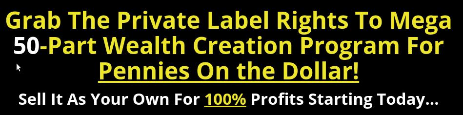 PLRXtreme: Wealth Creation Blueprint