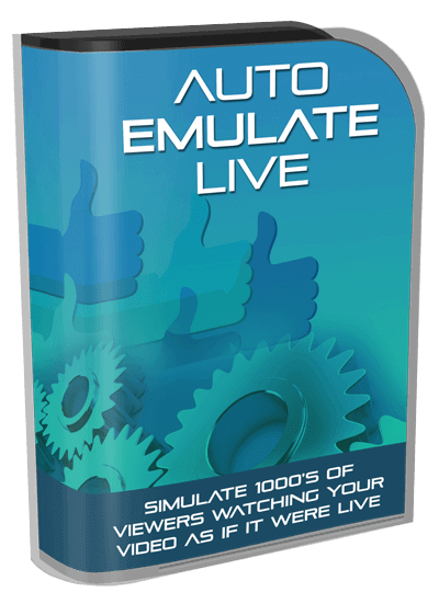 Auto Emulate LIVE(Enterprise Version) By Paul Lynch Review – IS THIS ALL YOU NEED? : Your FB Live Auto Simulation Tool That Skyrockets Your Viewer Count Into The 1,000'S Using Pre-Recorded Video