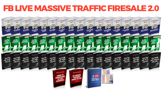 [SCAM OR LEGIT?] FB Live Massive Traffic Firesale 2.0 -- Henry Gold (PLR) Review : A Comprehensive Training Guide That Covers All The Details From The Introductory Course, Lead Generation Courses, Cash On Demand Course, And All The Way To Viral Traffic Courses On FB Live