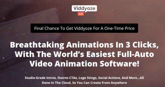Viddyoze Commercial Review – DON'T MISS THIS GOLDEN OPPORTUNITY : The World's First And Only 100% Automated Video Animated Service
