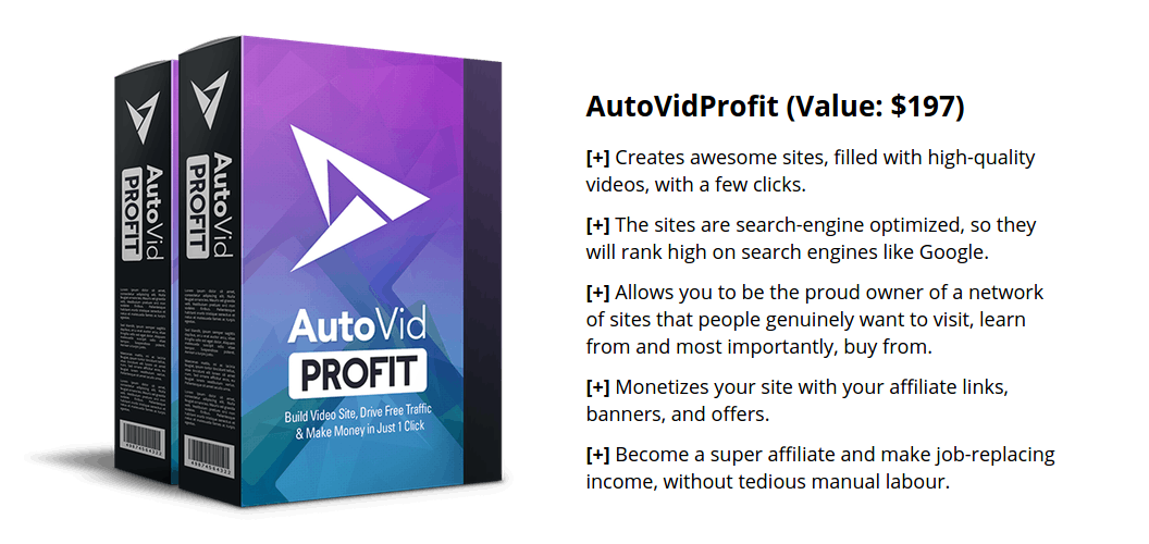 [DON'T GRAB BEFORE YOU READ!] AVP-AutoVid Profit Light- Unlimited Site Version By Moshfiqul Bari Review : Build Video Affiliate, Marketing Blogs, Drive Traffic And Make Affiliate Sales On Complete Autopilot