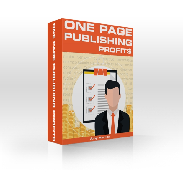 [DON'T MISS THIS GOLDEN OPPORTUNITY OUT!] One Page Publishing Profits By Amy Harrop Review : Easily Create And Publish Captivating, Value-Packed One-Page Content Assets!
