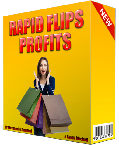 Rapid Flips Profits Review – IS IT SCAM OR WORTHY? : Steal This Newbie Friendly Rapid E-Com Method By Alessandro Zamboni and Gavin Birchall That Pockets You $77-$450+/day With Zero Traffic And At Zero Cost!