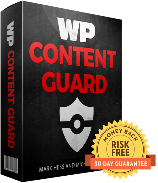 WP Content Guard Review – SHOULD YOU TRY IT? : The Only All-In-One WordPress Plugin That Will Fully Protect All Of Your Content Against Thieves In 1-Click