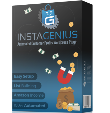 [DON'T MISS THIS GOLDEN OPPORTUNITY!] Cindy Donovan's InstaGenius Review : New Opportunity That Discovers Your Visitors Wants And Turns Them Into Needs With Offer They Cannot Refuse Or Ignore