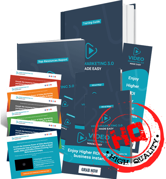 [SCAM OR LEGIT?] Video Marketing 3.0 Biz in a Box Monster PLR By Dr. Amit Pareek And Er. Ashu Kumar Review : Slap Your Name Onto This Brand New, Up-To-Date And Top-Quality Video Marketing Training For Big Profits Week After Week On Autopilot!